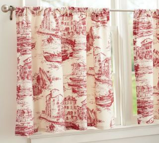 Curtains Toile On Popscreen