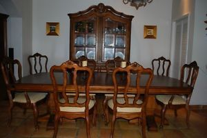 Dining Room Set Ethan Allen Tuscany Extended