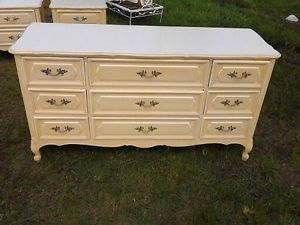 French Provincial Bedroom Set Henry Link Green Full Size Headboard Frame Dresser