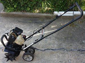Craftsman Incredi Pull Tiller Edger 4 Cycle Mini Tiller Gasoline