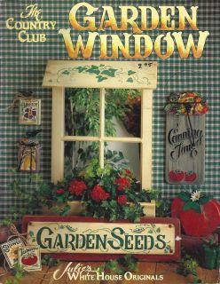 Decorative Painting Pattern Book Garden Window by Country Club