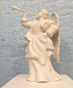 Avon Nativity Collectibles Porcelain Figurines Compl Set w Flying Angel 21pcs