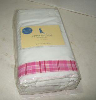 Pottery Barn Crib Skirt Beneficial Pink Ruffle Light Tulle Modest