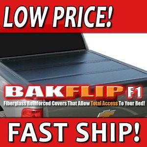 Bakflip F1 Hard Folding Tonneau Bed Cover 09 12 Dodge RAM 5 5' Short Bed