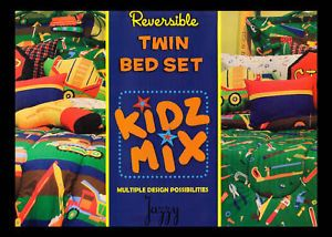 New Kidz Mix Tyler Toy's Chest Comforter Set Twin