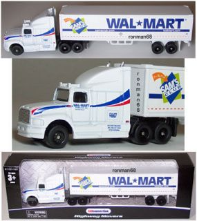 Wal Mart Sam's Club  Tractor Trailer Semi Truck