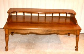 Gorgeous Ethan Allen American Traditional Coffee Table Solid Maple Birch 20 8380