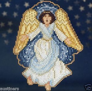 Gloria Bead Christmas Cross Stitch Kit Mill Hill 2013 Nativity Trilogy