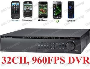 Dahua 32 Channel High Performance Standalone DVR 960FPS HDMI 4TB HDD DVD RW