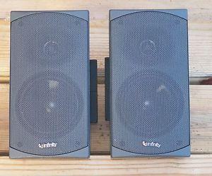 Infinity Universal Satellite Speakers Model US 1 Type 333592 10 100W 8 Ohm