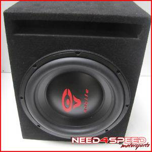 "Cerwin Vega Mobile VMAX 12 inch Subwoofer with Box 12"" Speaker 1000 Watts"