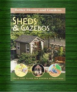 Plan Build Sheds Gazebos Start to Finish Book New
