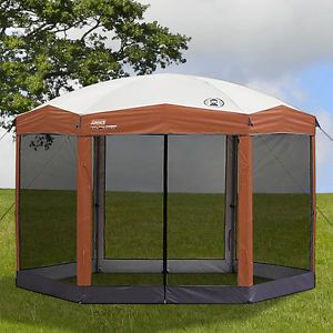 ... Coleman 12 x 10 Screened Hex Canopy Tent Gazebo Insect Screen Eating Keep Food ... & Coleman 2 Man Tents on PopScreen