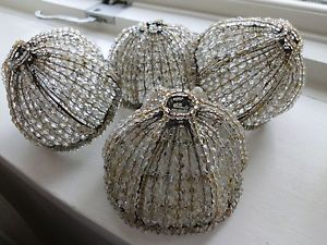 Antique crystal lamp on popscreen 4 czech bead antique crystal glass beaded lamp shade bulb cover shade aloadofball Gallery