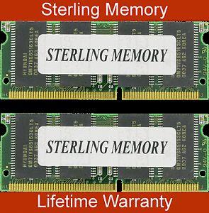 128MB 2X64MB Edo Memory RAM Non Parity 60ns SODIMM