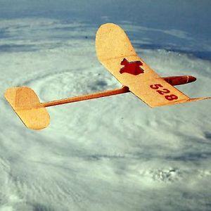Vintage Model Airplane Plans HLG Glider Airplane Note Plans