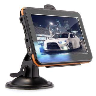 "Car 4 3"" TFT Touch Screen GPS Navigation FM RAM 128MB 4GB Europe Map"
