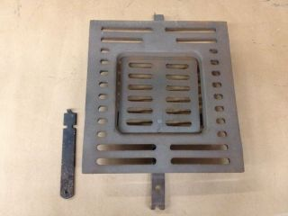 Grate Cast Iron Shaker for Wood Coal Furnace Stove