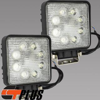 NEW 2PCS HIGH QUALITY SPOT LIGHT W 8 LED OFFROAD WORK LAMP FOGLIGHT FOR CAR SUV