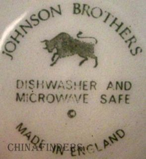 Johnson Brothers China Richmond White Creamer Cream Pitcher Jug