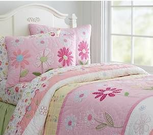 Potterybarn Kids Daisy Garden Girls Bedding Twin