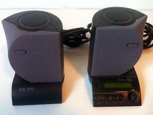 Lot 2 Altec Lansing Computer Speakers ADA885