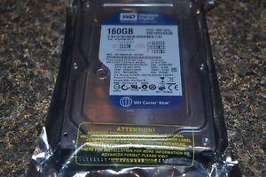 """Western Digital 160GB 8MB Cache 7200RPM IDE PATA 3 5"""" Hard Drive WD1600AAJB 400000098913"""