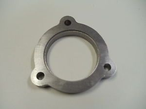 """GT20 GT2052 GT2052V Garrett Turbo Downpipe Flange 2 5"""" Outlet 1 2"""" Thick CNC MS"""