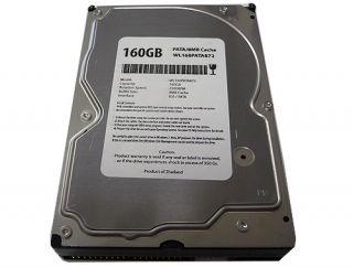 "New 160GB 8MB Cache 7200RPM Ultra ATA 100 PATA IDE 3 5"" Hard Drive"