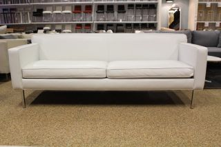 Theatre Sofa Steelcut Fabric Design Within Reach DWR Modern