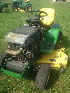 john deere 355d lawn mower tractor fix or parts diesel salvage