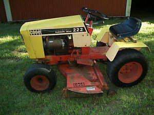 Case 222 Lawn Mower Garden Tractor
