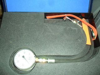ECS Water Drain Outlet Pressure Gauge Set EX RAF Nimrod Aircraft Kit