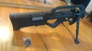 Red Jacket ZK 22 Zombie Bullpup Stock Ruger 10 22 Rails and Bipod Installed