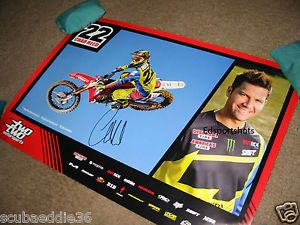 Chad Reed Poster Sports Mem, Cards & Fan Shop