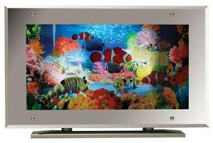 Aquarium Lamp Fish Mirror Frame Moving Picture