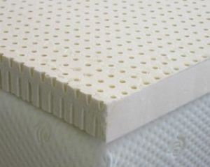 "Natural Latex 2"" Extra Firm Mattress Topper King Size"