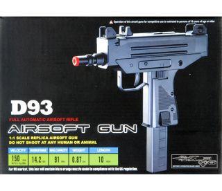 New Airsoft Full Auto Electric AEG Mac 10 11 UZI Rifle Hand Gun Pistol w 6mm BB