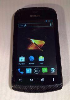 Kyocera Hydro 2GB Black Boost Mobile Smartphone Bad ESN