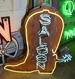 Saloon Bar Style Vintage Neon Sign