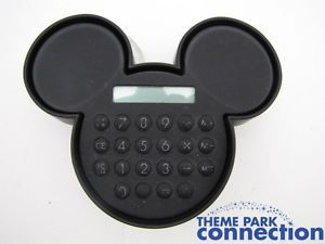 Disney Mickey Mouse Ears Icon Calculator Retired Office Supply RARE Desk Display