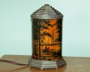 Vintage Ignition Co Motion Lamp Night Light 1940'S