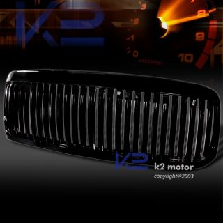 1999 2004 Ford F250 Black Vertical Grill Grille ABS