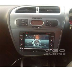 ETO Seat Leon Altea Toledo 3D Car Stereo DVD Autoradio GPS SAT Nav Touch Screen