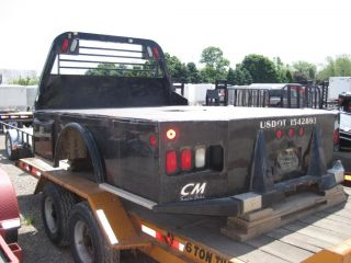 """Used cm Bed SK 9'3' x 94"""" Skirted Ford Dodge Chassis Truck Body Tool Box Service"""