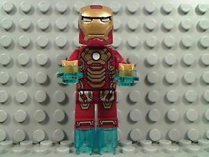 Lego Iron Man 3 Mark 42 Armor Suit Marvel Super Heroes Extremis Sea Port 76006