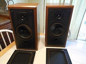 Vintage Polk Audio Bookshelf Speakers Monitor 4 5 Baltimore MD EC