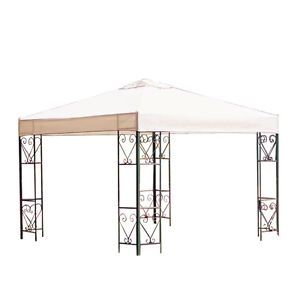 New Replacement Canopy Top for 10' x 10' Gazebo 1 Tier Frame Outdoor Canopy Top