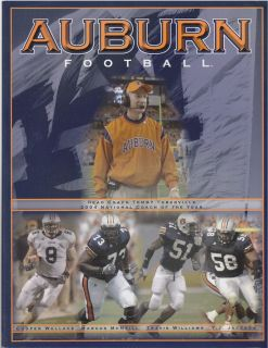 Auburn University Tigers Official 2005 Information Media Guide