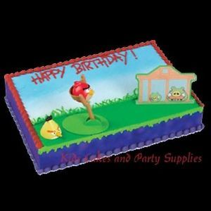 Angry Birds Cake Decorating Kit Topper Decoration Party Supplies Birthday Set
